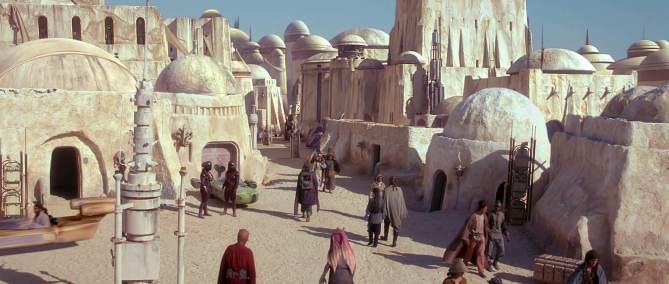 Scène de Star Wars tournée en Tunisie