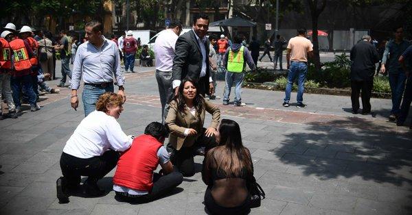 Recherches concentrées sur dix immeubles à Mexico — Séisme au Mexique