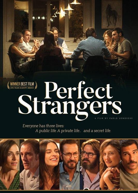 Affiche du film italien Perfect Strangers