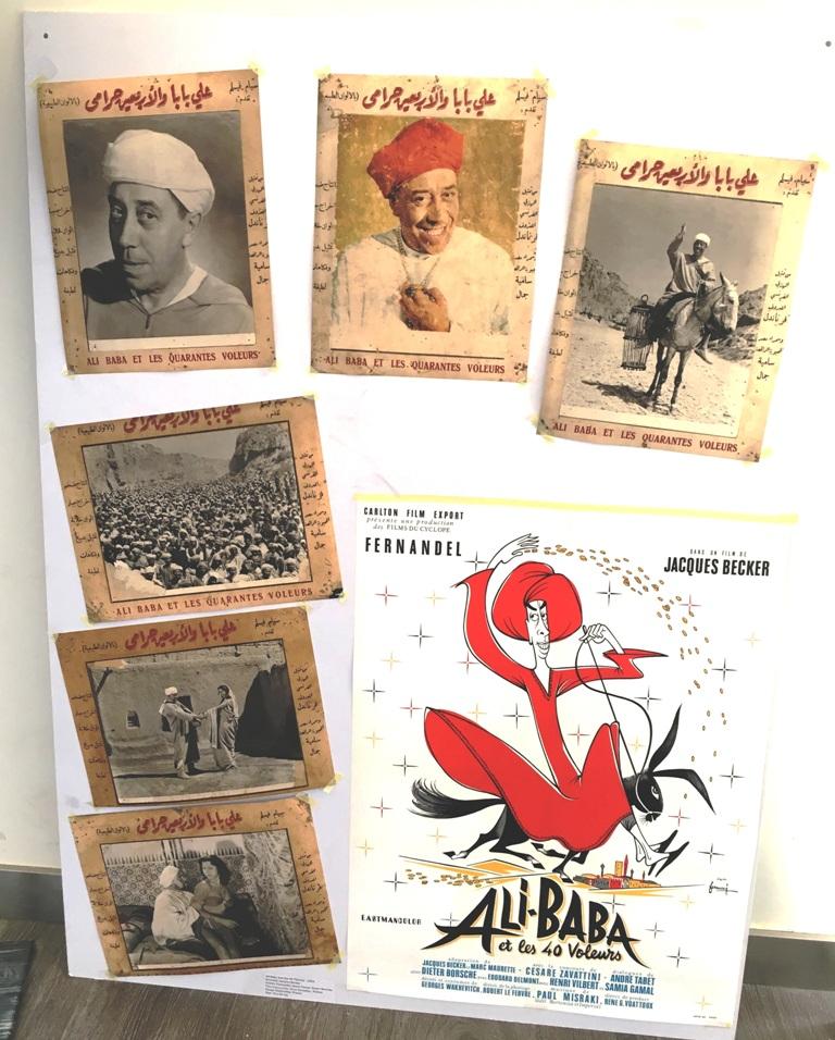 Fernandel dans le film Ali Baba et les 40 voleurs