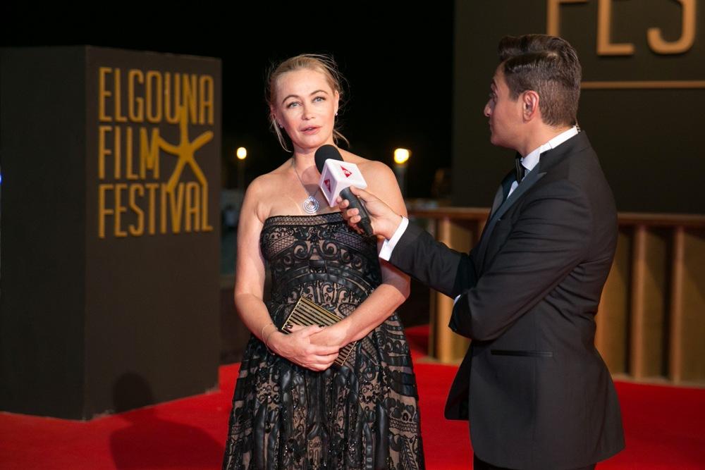 Emmanuelle Béart au Festival du Film d'El Gouna
