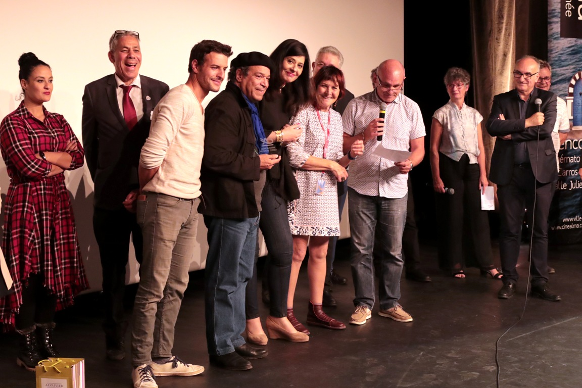 Remise du Prix Crédit Agricole à Rachid Benhadj pour son film l'Etoile d'Alger