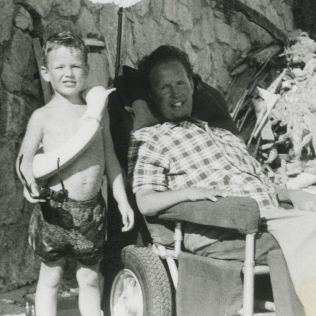 Robin Cavendish et son fils Jonathan