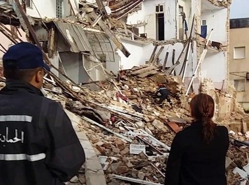 Le bilan passe à 4 morts — Effondrement d'un immeuble