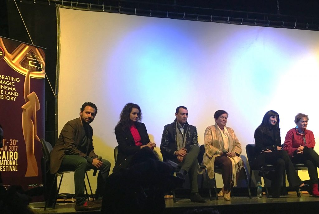 Débat après la projection du film El Jaida