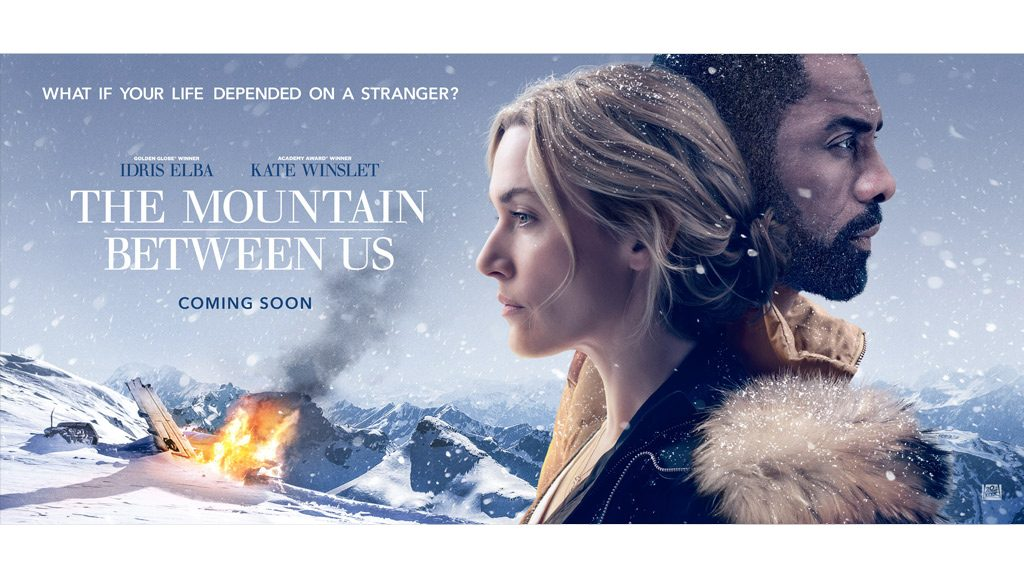 "Affiche du film d'ouverture ""The Mountain Between Us"""