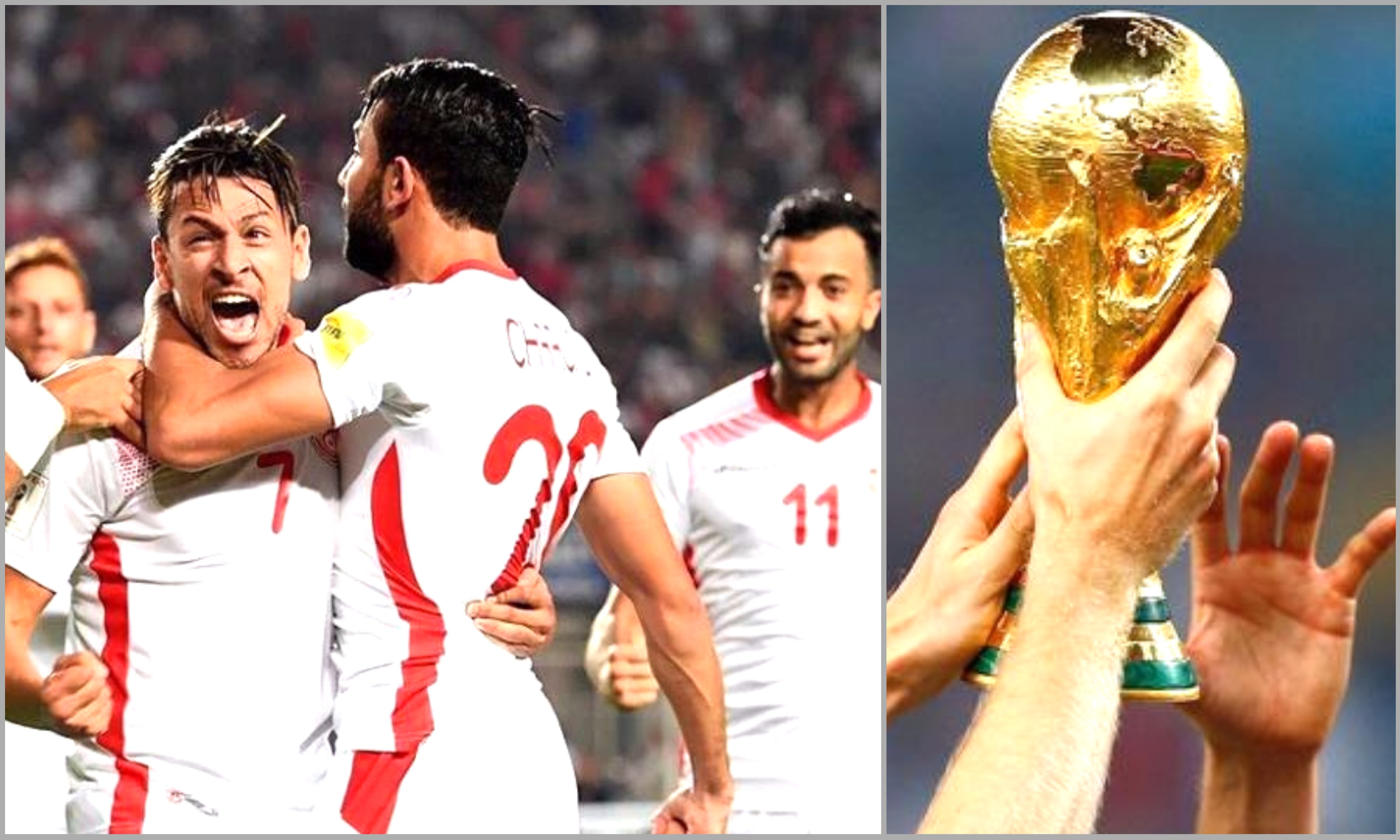 Mondial 2018 la tunisie qualifi e pour sa cinqui me coupe du monde - Coupe du monde 1998 tunisie ...