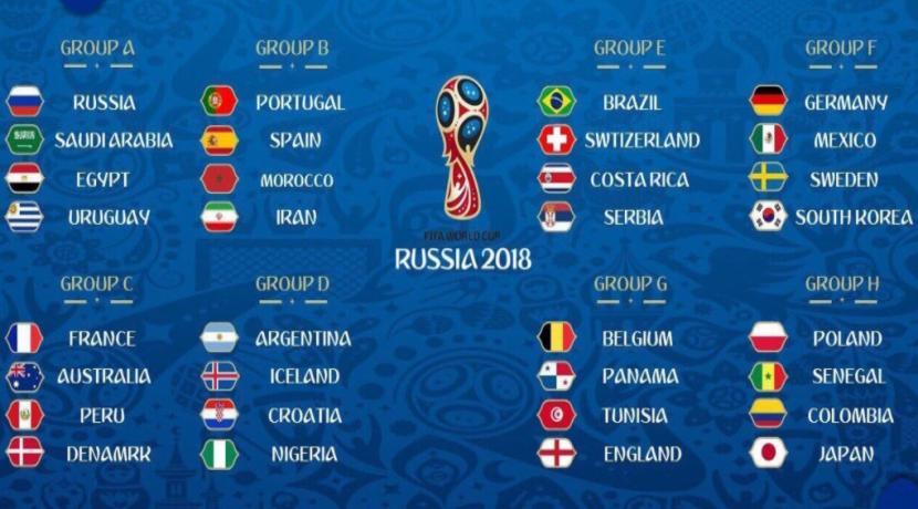 A Lissu Du Tirage Au Sort De La Phase De Poules De La Coupe Du Monde Russie  La Tunisie Evoluera Dans Le Groupe G Avec La Belgique Tete De Groupe