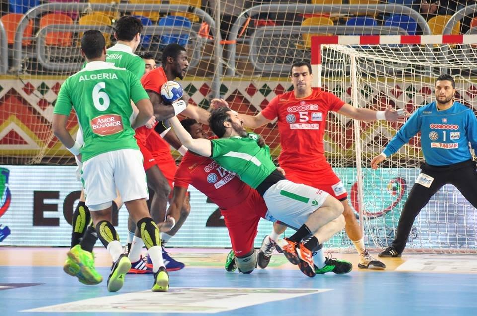 Can de handball la tunisie en demi finales - Coupe d afrique handball ...