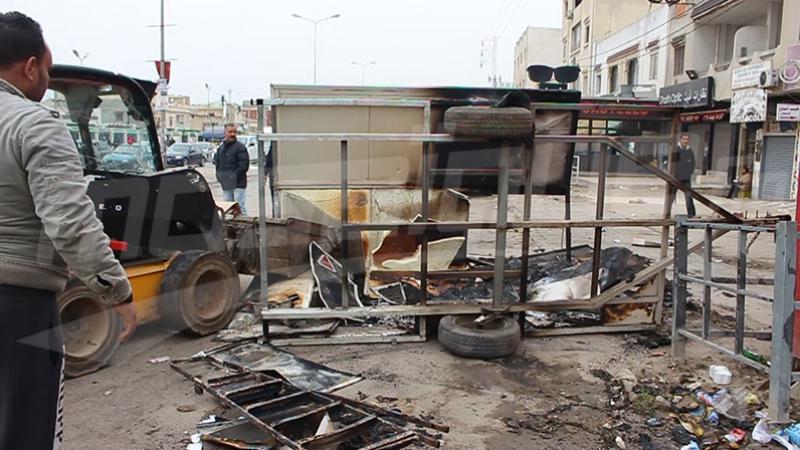 Des dizaines de casseurs arrêtés — Tunisie