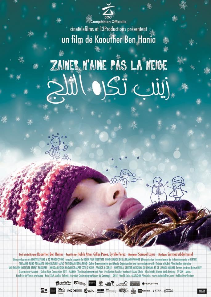 Affiche Zaineb n'aime pas la neige