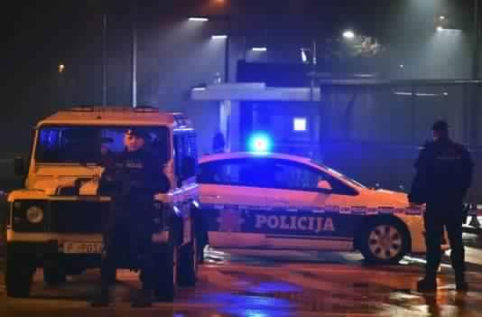 Attaque à la grenade contre l'ambassade US — Monténégro