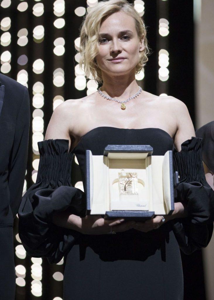 Diane Kruger remporte le prix d'interprétation féminine pour son role de Katja dans In The Fade