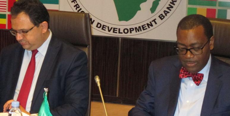 L'accord pour un Bureau régional de la BAD à Tunis officiellement signé