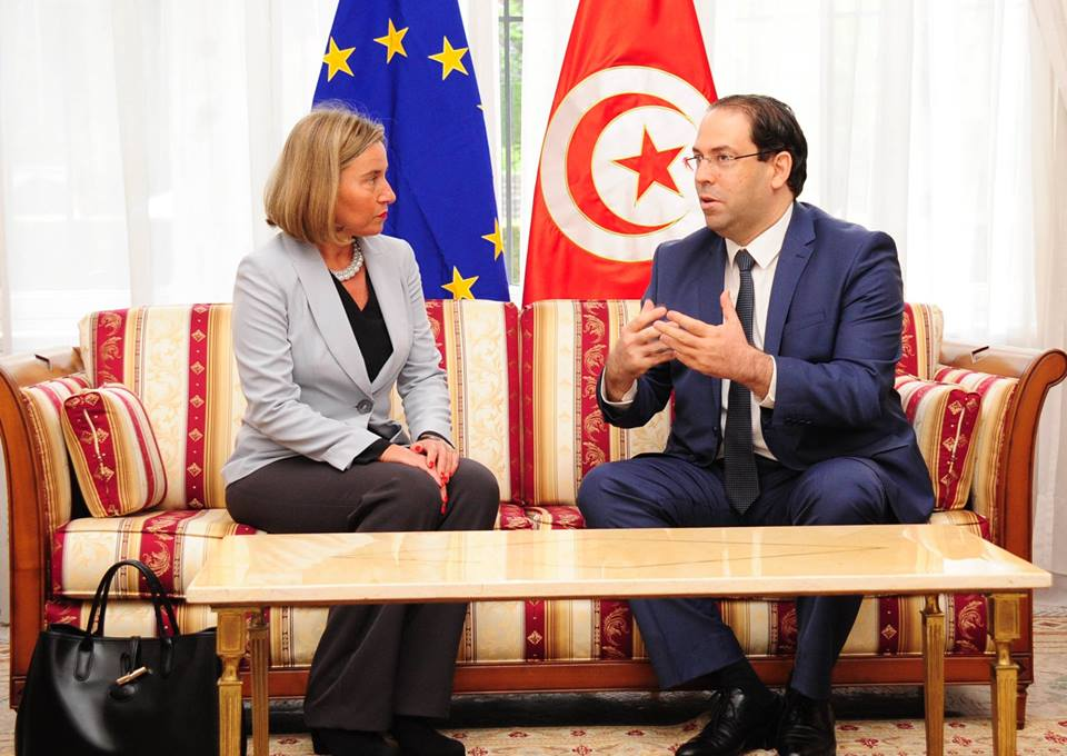 Youssef Chahed rencontre Federica Mogherini à Bruxelles — Tunisie