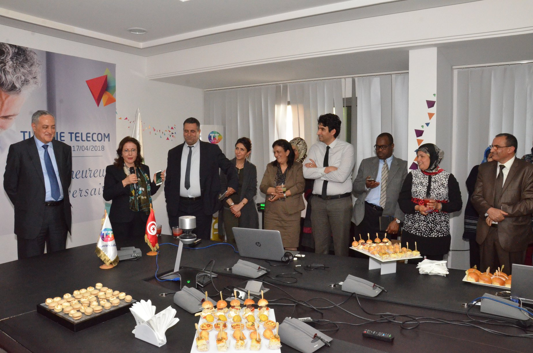 Joyeux Anniversaire Tunisie Telecom