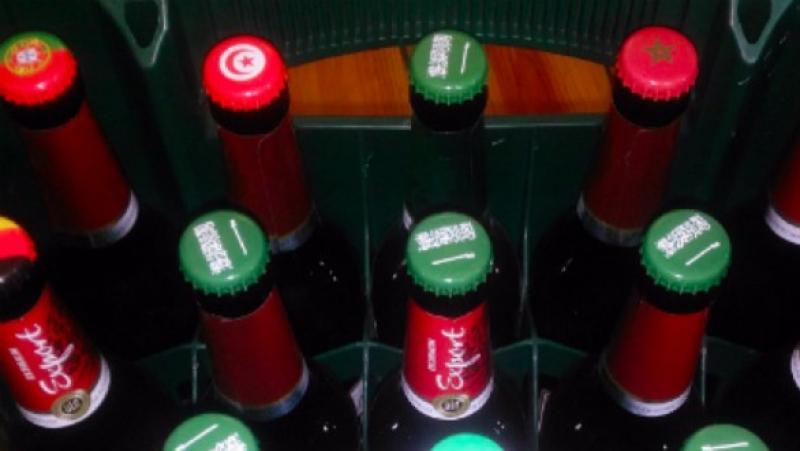 Mondial 2018 : de la bière aux couleurs de l'Arabie Saoudite
