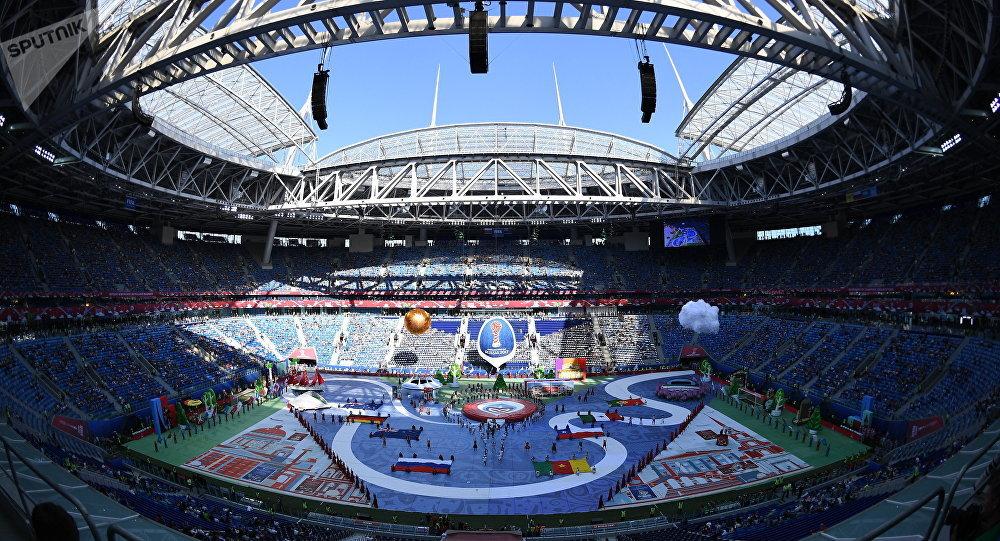 Mondial 2018 en Russie : une cérémonie d'ouverture classique... mais courte à Moscou
