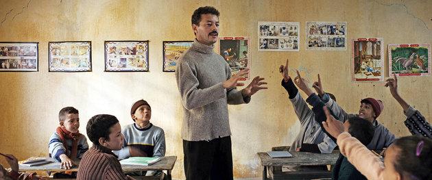 Razzia - Amine Ennaji dans le rôle de l'enseignant