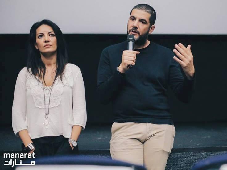 Festival Manarat - Nabil Ayouch et Maryam Touzani lors du débat qui a suivi la projection de Razzia