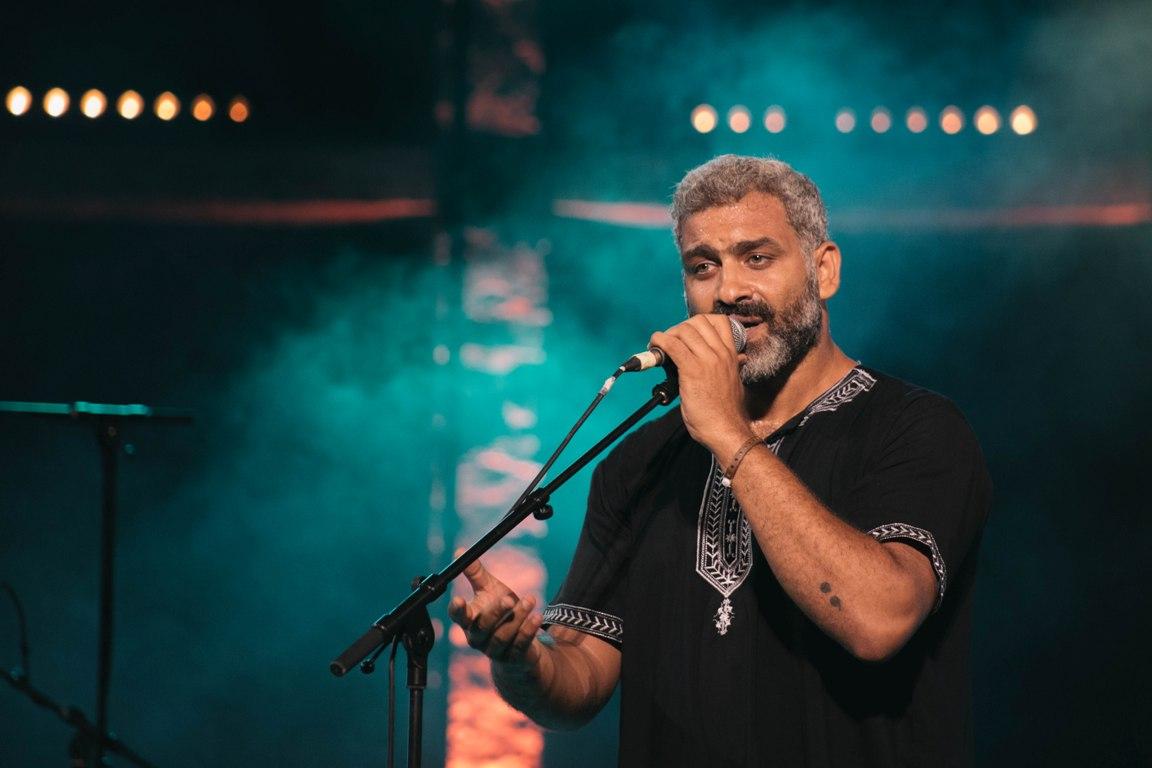 Hany Adel, chanteur du groupe Wust El Balad