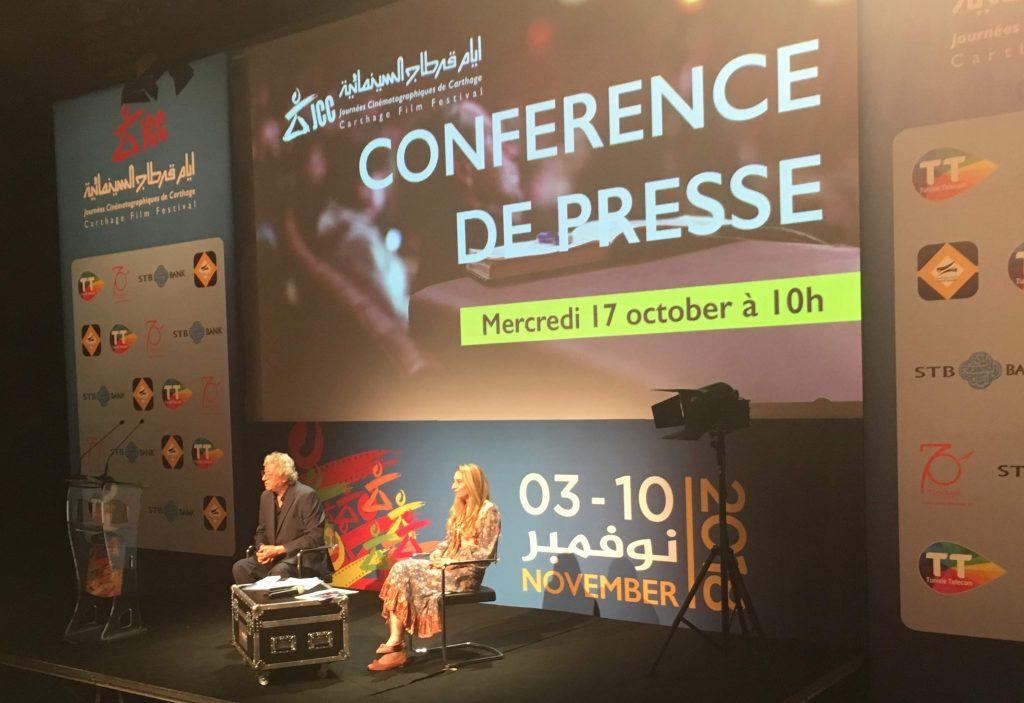 Conférence de presse des JCC 2018