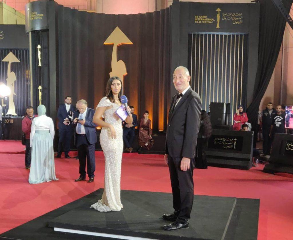 Daniel Ziskind à la cérémonie de clôture du Festival International du Film du Caire