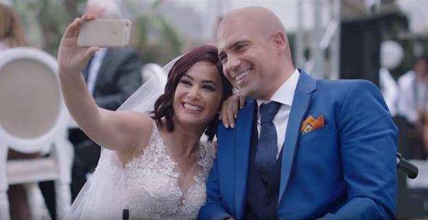 Dhafer L'Abidine et Hend Sabry dans le feuilleton Halawet El Donia