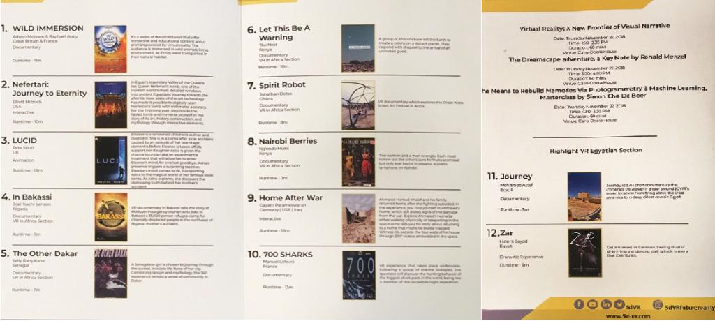 CIFF - Catalogue des films proposés en réalité virtuelle