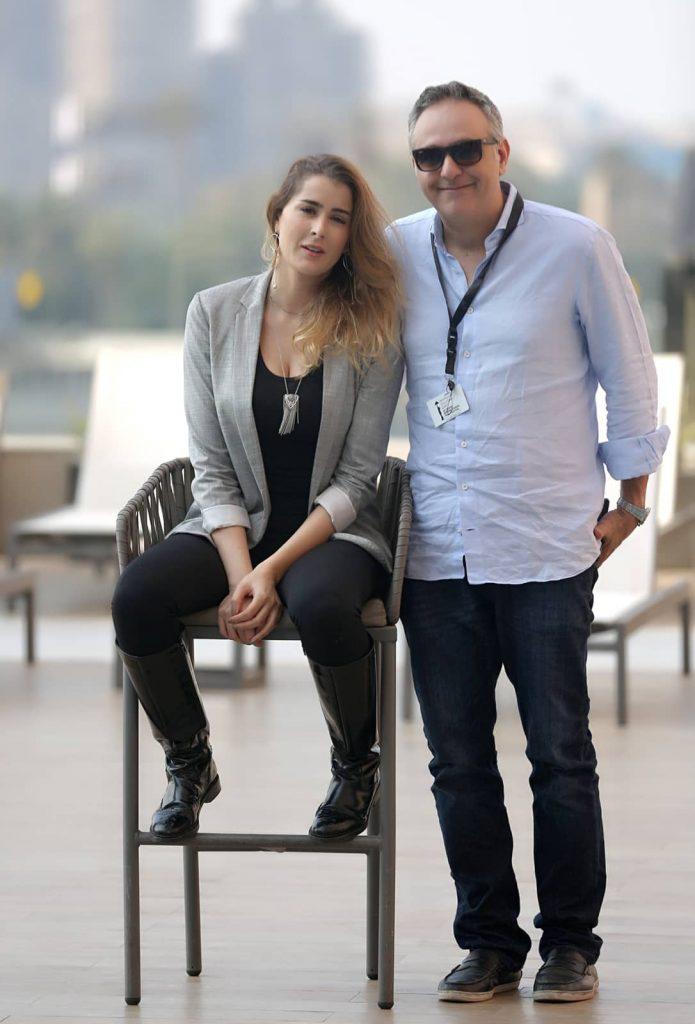 Aicha Ben Ahmed et Mohamed Hefzy
