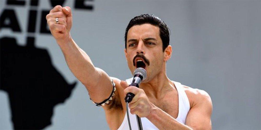 Rami Malek dans le rôle de Freddie Mercury