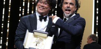 Cannes 2019 - Le réalisateur coréen Bong Joon-Ho et le président du Jury Alejandro Gonzalez Iñarritu
