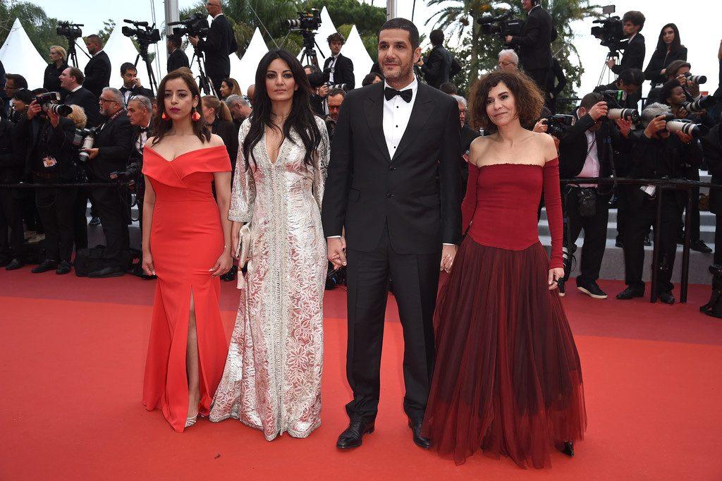 Cannes 2019 - Nisrin Erradi, Maryam Touzani, Nabil Ayouch et Lubna Azabal Adam
