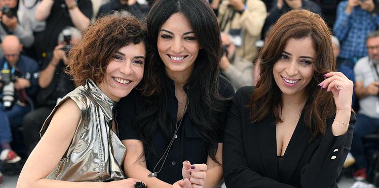 Cannes 2019 - Nisrin Erradi, Maryam Touzani, et Lubna Azabal Adam