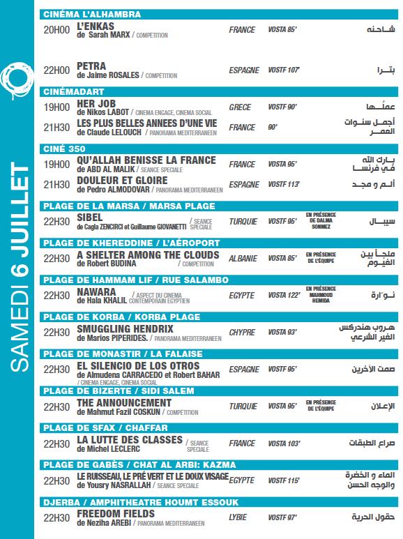 Manarat 2019 - Programme complet