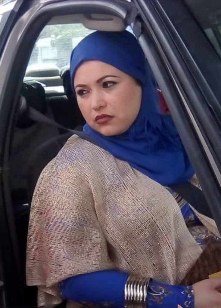 "Ramla Ayari dans le film ""Un divan à Tunis""."