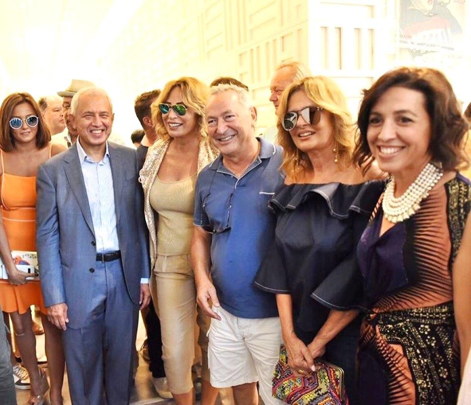 Vernissage de l'exposition Ihsan Abdel Quddous