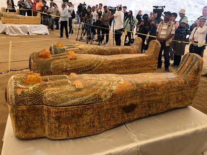 Sarcophages Egypte Louxor