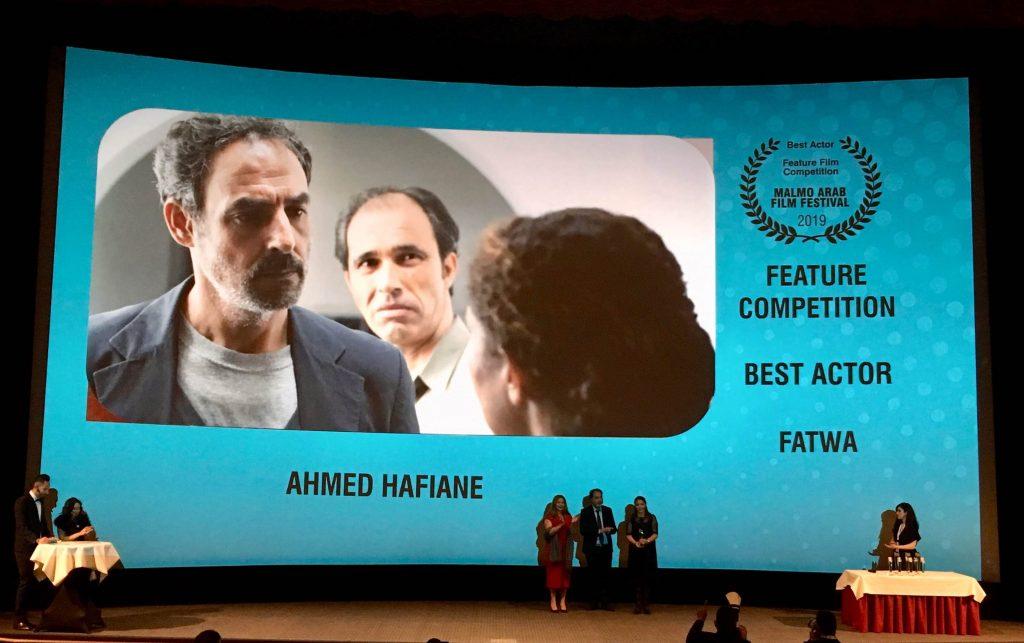 Prix du Meilleur acteur pour Ahmed Hafiène