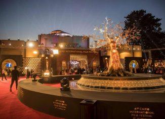 CIFF 2019 - Très beau décor pour le tapis rouge. (AFP)
