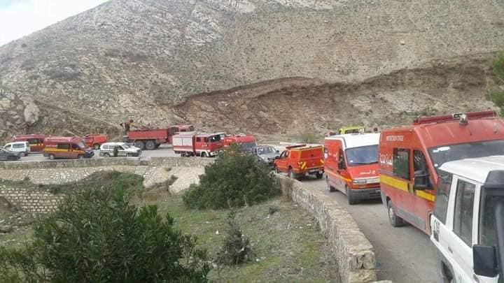Tunisie : plus de 20 morts dans l'accident d'un bus touristique