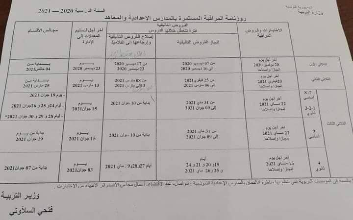Bac 2021 : Dates des sessions principale et de contrôle