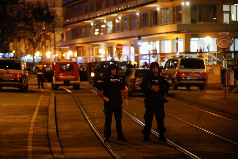 Fusillade à Vienne: