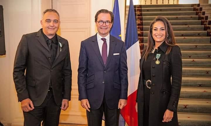 Hend Sabry, Officier des Arts et des Lettres